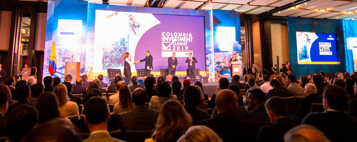COLOMBIA INVESTMENT SUMMIT 2019 - Summit 2019